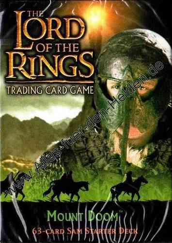 The Lord of the Rings TCG: Mount Doom, Sam Starter Deck