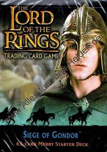 The Lord of the Rings TCG: Siege of Gondor, Merry Starter Deck