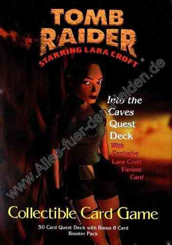 Tomb Raider CCG: Into the Caves, Quest Deck