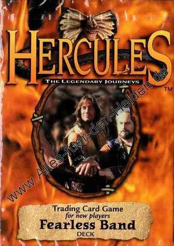 Hercules TCG: Fearless Band, Deck