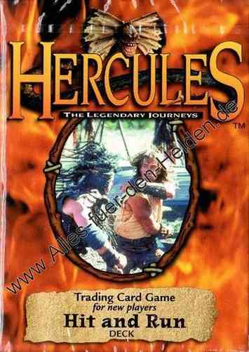 Hercules TCG: Hit and Run, Deck