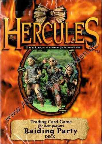 Hercules TCG: Raiding Party, Deck