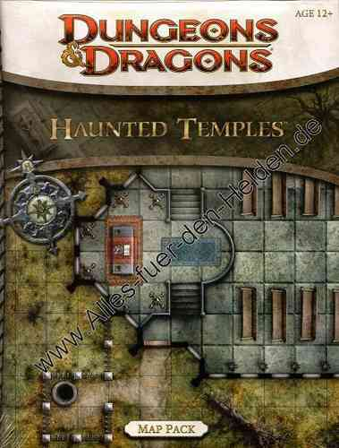 D&D4: Haunted Temples (Map Pack)