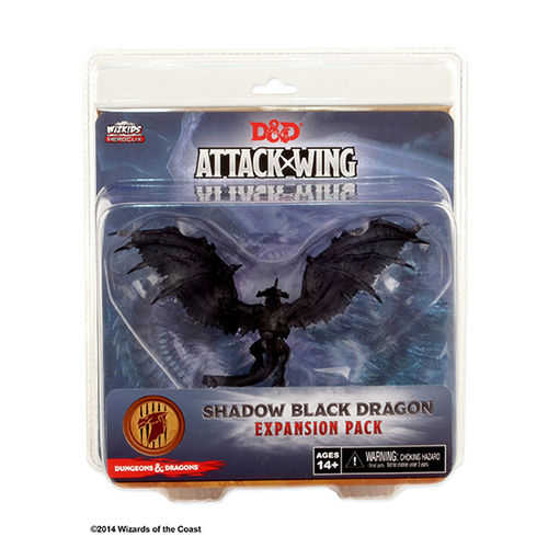 D & D Attack Wing: Shadow Black Dragon (engl.)