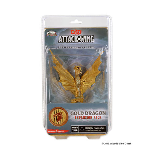 D & D Attack Wing: Gold Dragon (engl.)