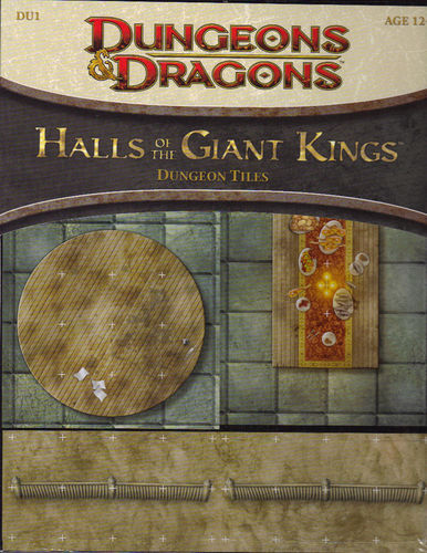 D&D4: Halls of the Giant Kings (Dungeon Tiles)