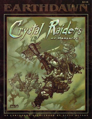 Earthdawn: Crystal Raiders of Barsaive