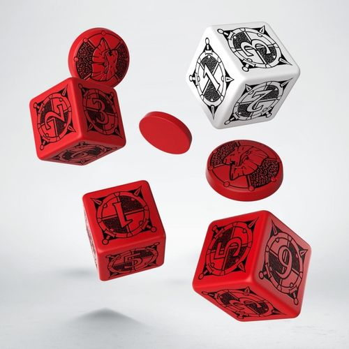 Kingsburg: Dice and Tokens - Set Red