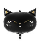 Cute Black Cat Mylar Balloon