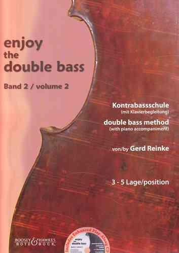 "Gerd Reinke: Kontrabass-Schule ""Enjoy the double bass"" Band 2 (3 - 5 Lage)"