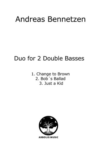 "Andreas Bennetzen: ""Duo for 2 Double Basses"""
