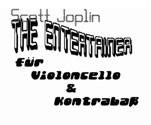 "Scott Joplin: ""The Entertainer"" (Vcl+Kb) als pdf"
