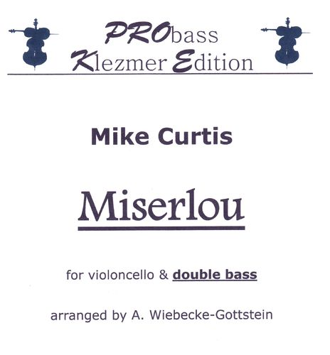 "Mike Curtis: ""Miserlou"" als pdf"