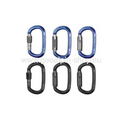 SINGING ROCK - Alukarabiner - OZONE - screw - blau