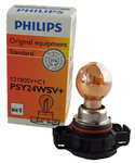 Philips PSY24WS+ SilverVision SilverVision gelbe Chrom Blinker Lampe 1St 12180SV