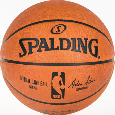 Spalding Original NBA Leder Ball