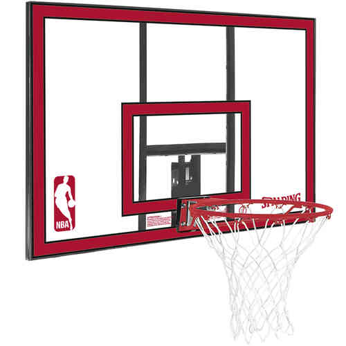 Spalding NBA Polycarbonat Backboard Red - Basketballkorb