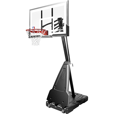 Spalding NBA Platinum Portable - Basketballkorb + Basketball