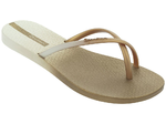 Ipanema Fit Summer thongs - beige/gold
