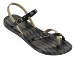Ipanema Fashion sandals black gold