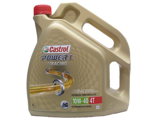 4 Liter Castrol 10W-40 4T Power Racing 4-Takt