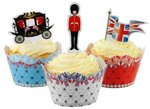 Jubilee Cake Wraps & Toppers