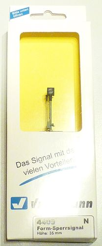 Viessmann 4409 form block singal green