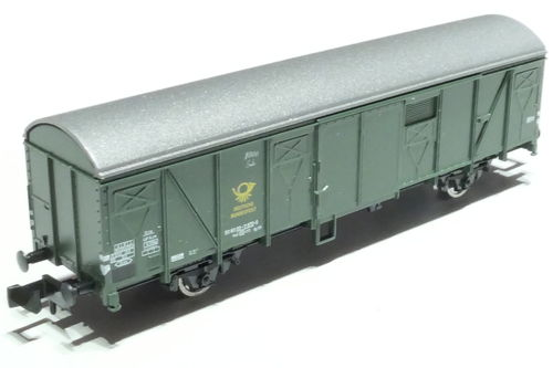 Fleischmann 831511 DB 2axl. box car green
