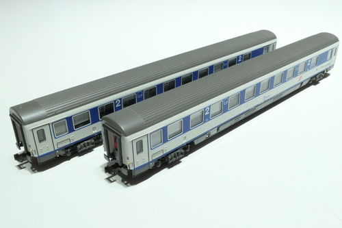 LS-Models 77180 ÖBB 2x lying dare blue/gray