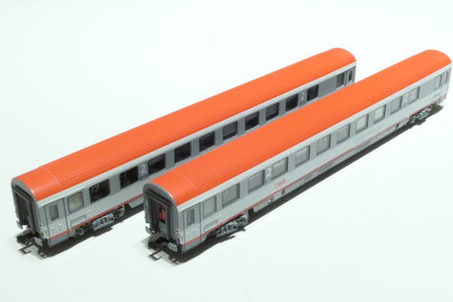 LS-Models 77182 ÖBB 2x lying dare gray/gray/red