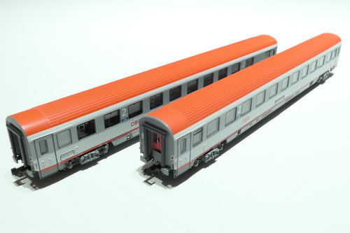 LS-Models 77183 ÖBB 2x lying dare gray/gray/red