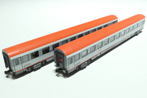 LS-Models 77184 ÖBB 2x lying dare gray/gray/red