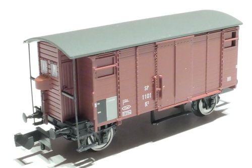 BRAWA 67856 MThB 2axl. box car brown