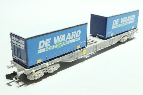 Fleischmann 845373 DB AG container car gray