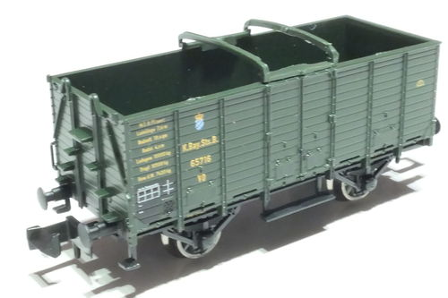 Fleischmann 826003 K.Bay.Sts.B. 2xl. car green