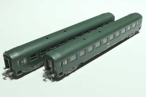 REE Models NW-137 SNCF 2x passenger car