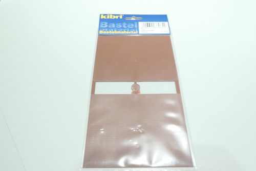 Kibri 37965 Roofslates brown