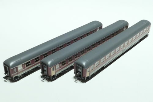 A.C.M.E. 16514 FS 3x passenger car gray red