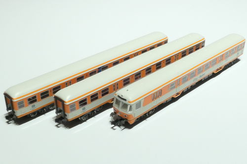 Minitrix 15474 DB 3teil. Set City Bahn