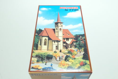 Vollmer 47736 Kit church Ditzingen