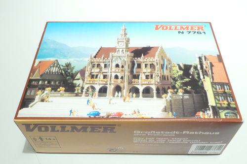 Vollmer 47761 kit city big city hall