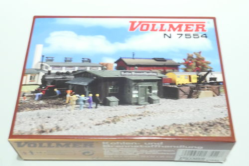 Vollmer 47554 Kit coal and fuel trading