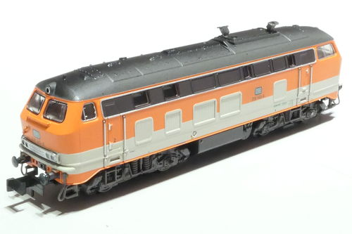 Minitrix 16280 DB 218 143-6 CityBahn orange grau
