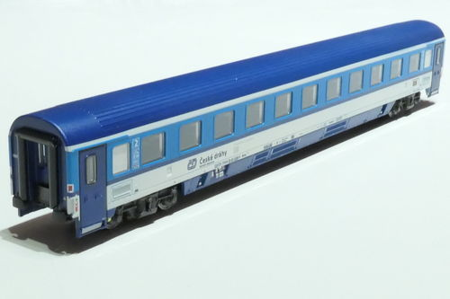 ASM 195424 CD 2nd class passanger car gray blue