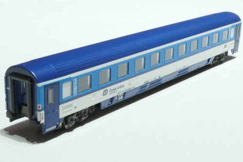 ASM 195425 CD 2nd class passanger car gray blue