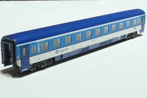 ASM 195426 CD 2nd class passanger car gray blue