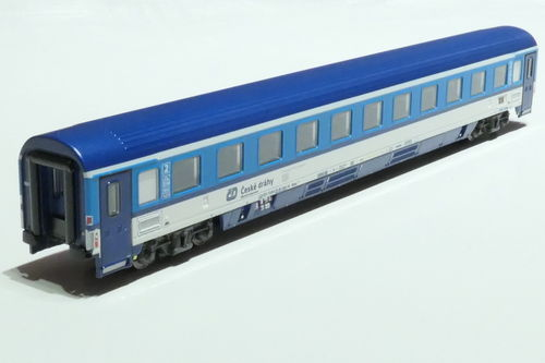 ASM 195427 CD 2nd class passanger car gray blue
