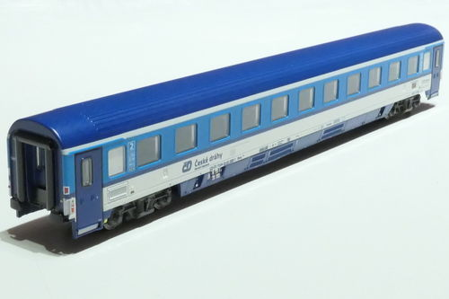 ASM 195428 CD 2nd class passanger car gray blue