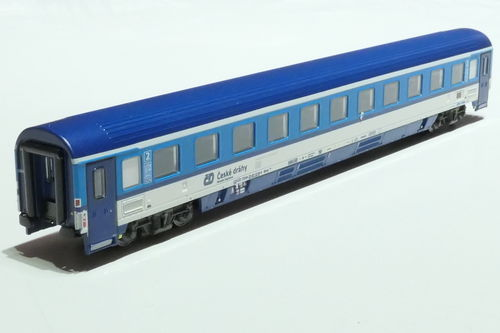 ASM 195430 CD 2nd class passanger car gray blue