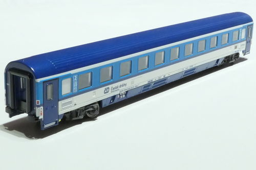 ASM 195431 CD 2nd class passanger car gray blue